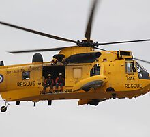 RAF Sea King by Andrew Gilbey