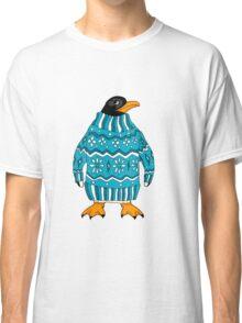 cute penguin in sweater Classic T-Shirt