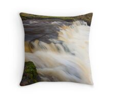 Dalry Waterfall in Ayrshire,Scotland Throw Pillow