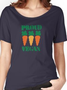 PROUD VEGAN with carrots Women's Relaxed Fit T-Shirt
