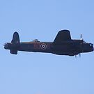 Lancaster Bomber by Michael Rowlands
