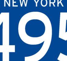 Interstate 495 Sign, New York Sticker