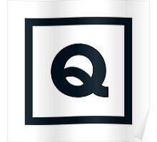"Alphabet ""Q"" Poster"