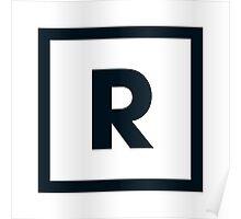 "Alphabet ""R"" Poster"