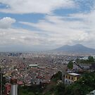 Naples from above by Mykola