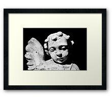 Stone Angel Framed Print