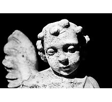 Stone Angel Photographic Print