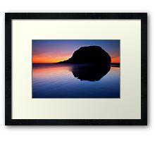 Stack Reflections Framed Print