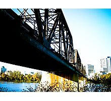 Old Train Bridge Photographic Print