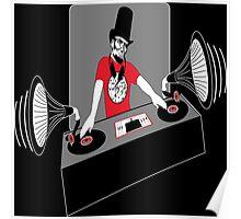 DJ Abe Lincoln Poster