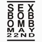 Scott Pilgrim - Sex Bob Omb May 22nd by AlexNoir