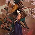 The Spirit of Tomoe Gozen by Rudy  Faber