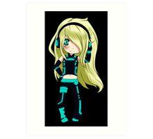 Anime Chibi 5. Art Print
