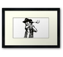 Carl Grimes Walking Dead Framed Print