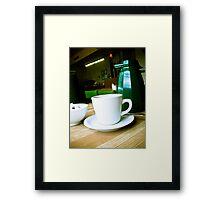The Coffee Shop 03 Framed Print