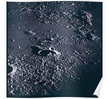 Apollo Archive 0060 Moon Craters from Orbit Poster