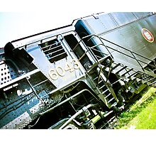 Old locomotive Steam Train 02 Photographic Print