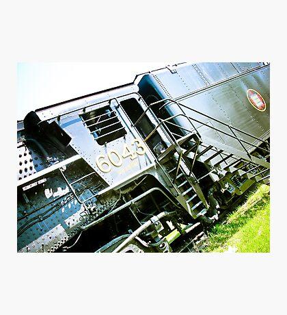 Old locomotive Steam Train 02 Photographic Print