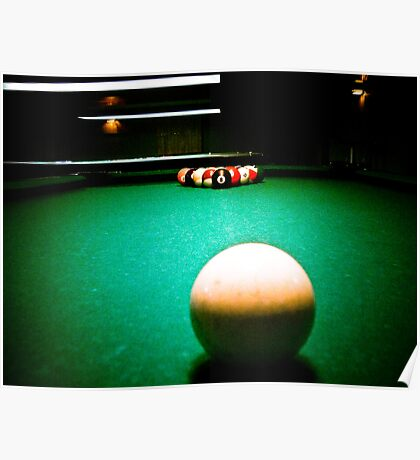 A Game of Pool 02 Poster