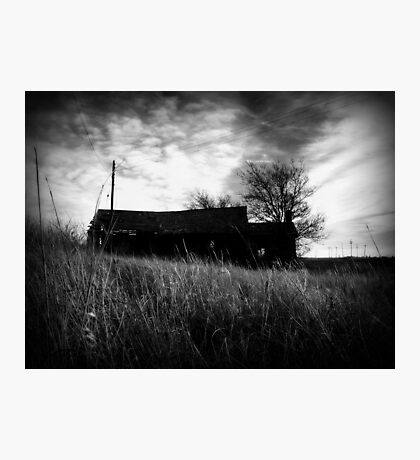ness city farmstead Photographic Print