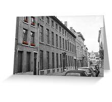 Antwerp Street Greeting Card