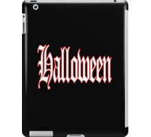 Halloween, 31 October, Hallowe'en, All Saints' Eve, Allhallowtide, Trick, Treat iPad Case/Skin