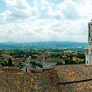 Gubbio Panorama by Colin Metcalf