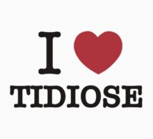 I Love TIDIOSE Kids Clothes