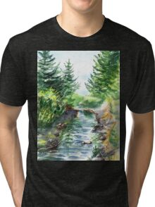 Forest Creek Tri-blend T-Shirt