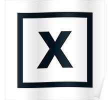 "Alphabet ""X"" Poster"