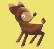 cutie deer One Piece - Short Sleeve