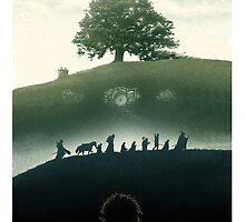 Lord Of The Rings Fellowship Of The Ring by SinisterSix
