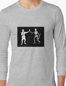Pirate Flag - Bartholomew Roberts Long Sleeve T-Shirt
