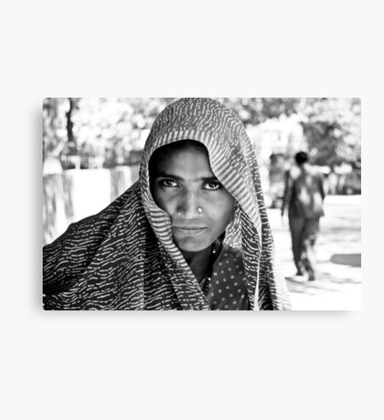The Eyes of  a Mysterious Beauty Canvas Print