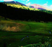 bowen mountain by nessbloo