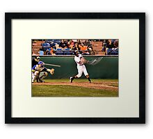 Foul Ball! Framed Print