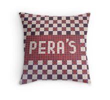 Pera's Throw Pillow