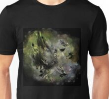 Castle in Space - Abstract CG Unisex T-Shirt