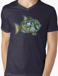Aqua Gypsy Mens V-Neck T-Shirt