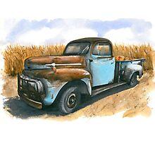 Farm Hauler Photographic Print
