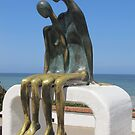 Nostalgia - artwork at the Malecon of Puerto Vallarta by Bernhard Matejka