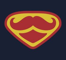 Moustached Superman Kids Clothes