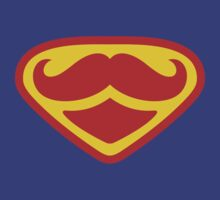 Moustached Superman by BananaZ