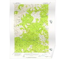 USGS Topo Map Oregon Fairdale 282488 1955 62500 Poster