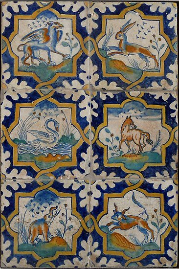 Renaissance Dutch tiles by Kiriel