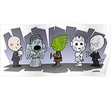 Doctor Who Monsters ... Peanuts Style Poster