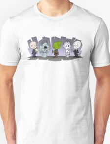 Doctor Who Monsters ... Peanuts Style T-Shirt