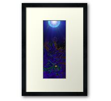 new world in time Framed Print