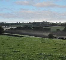 Mist Over Morchard by Andy Mackay