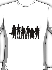 Bounty Hunter Line Up  Exclusive T-Shirt